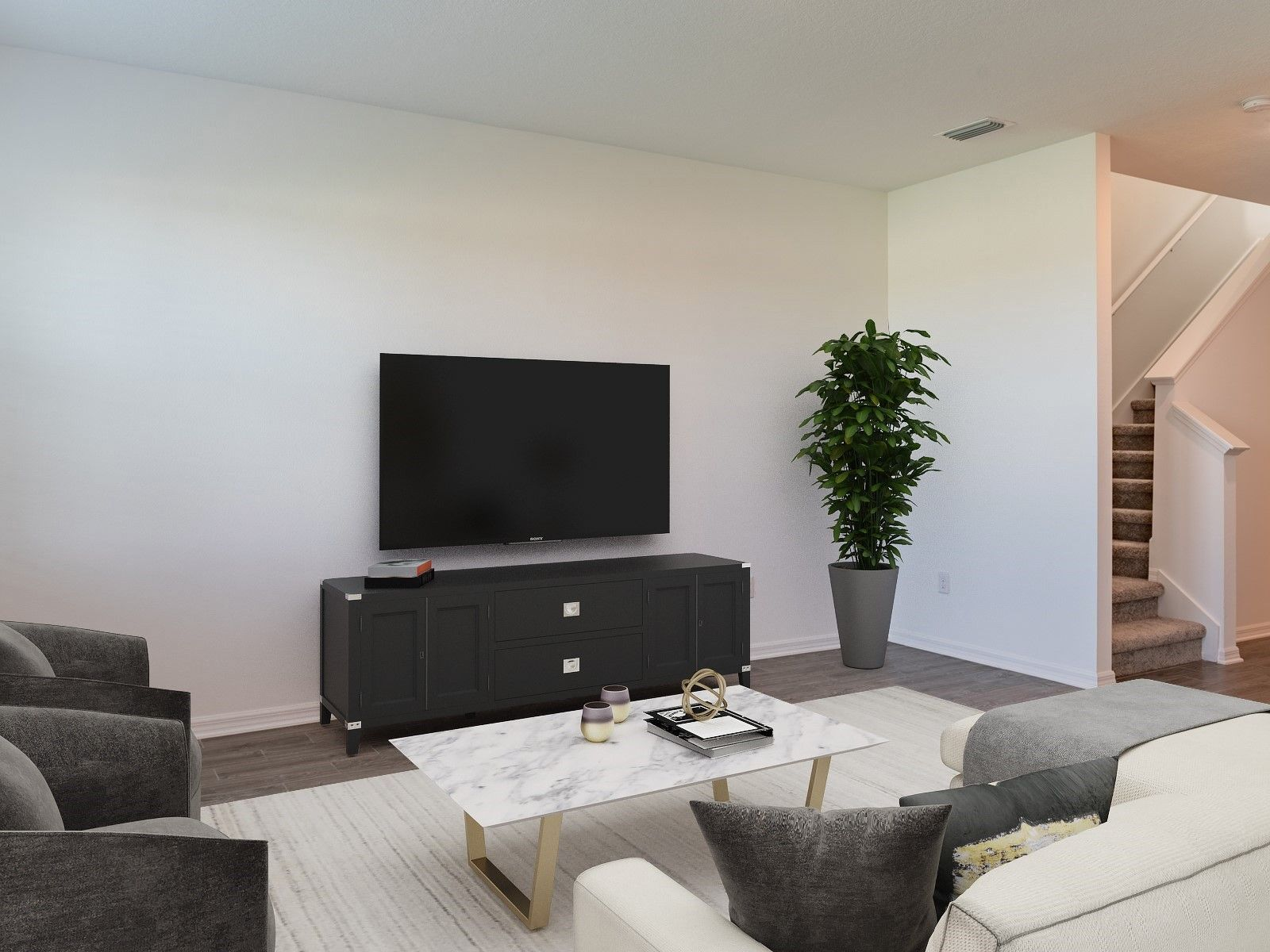 Living Area featured in the Aspen - Meritage Homes By Crown Community Development