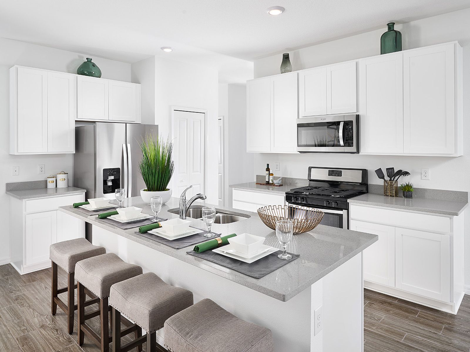 Kitchen featured in the Poinciana - Meritage Homes  By Crown Community Development