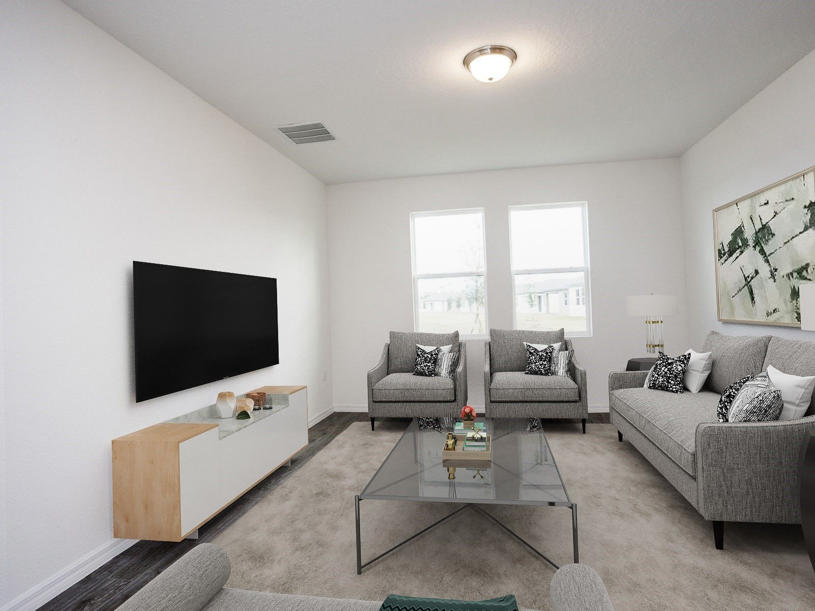 Living Area featured in the Valencia - Meritage Homes By Crown Community Development