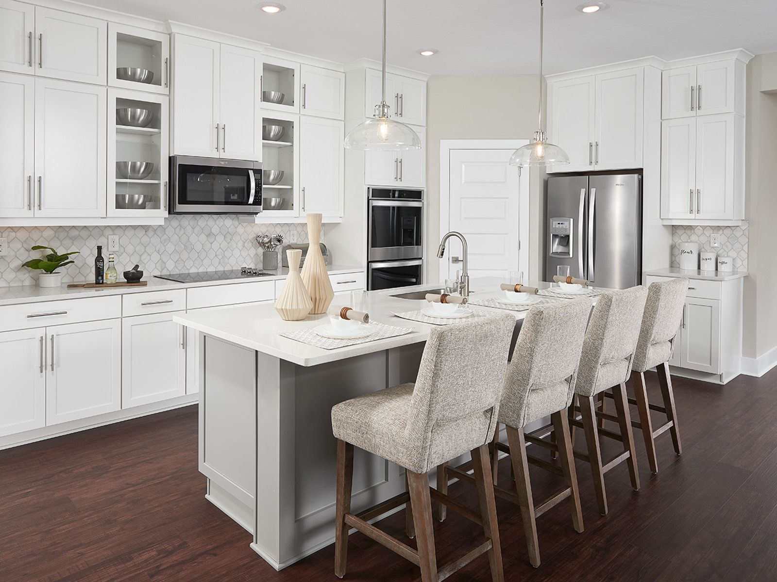 Kitchen featured in the Pomelo - Meritage Homes By Crown Community Development
