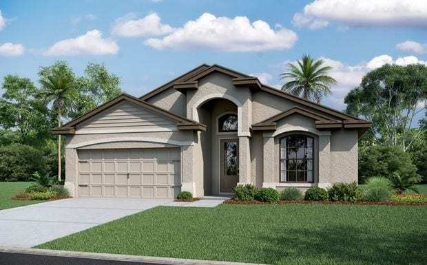Exterior featured in the Genova - Vitale Homes By Crown Community Development