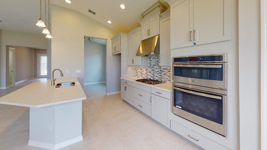 Kitchen featured in the Aruba - Taylor Morrison By Crown Community Development
