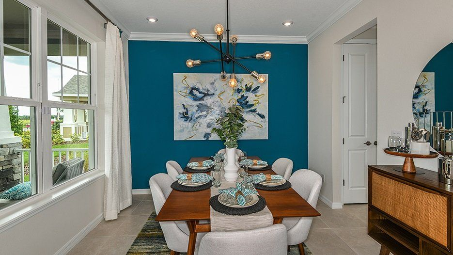 Living Area featured in the Bonaire - Taylor Morrison By Crown Community Development
