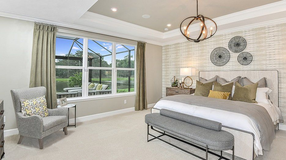Bedroom featured in the Tortola - Taylor Morrison By Crown Community Development