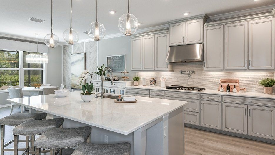 Kitchen featured in the Sand Key - Taylor Morrison By Crown Community Development