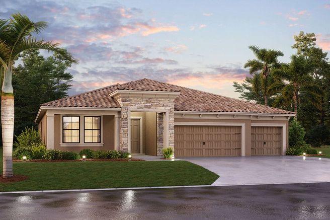 Corina III - Tile Plan - M/I Homes