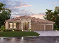 Corina III - Tile Plan - M/I Homes - WaterGrass: Wesley Chapel, Florida - Crown Community Development