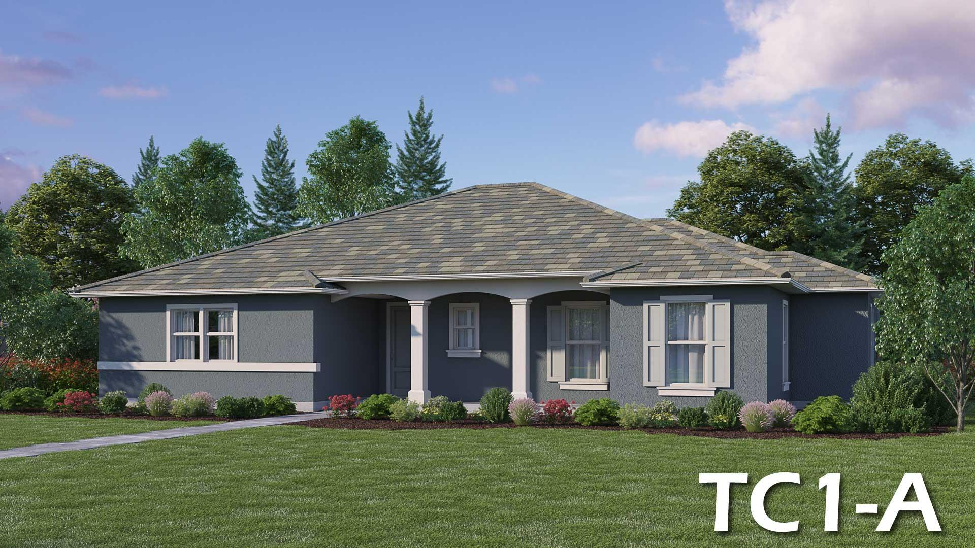 Exterior featured in the TC-1 By Crowne Communities in Sacramento, CA