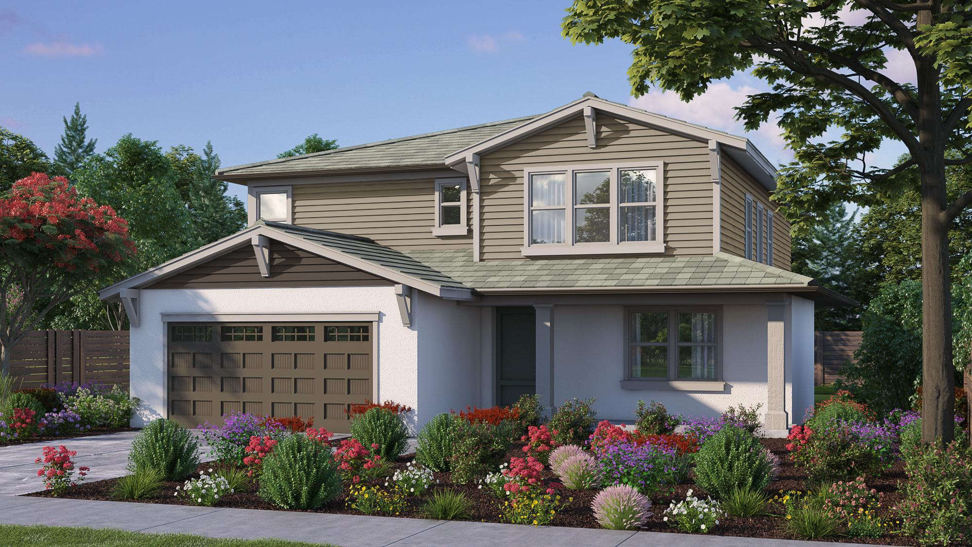 Exterior featured in the T-4 By Crowne Communities in Sacramento, CA