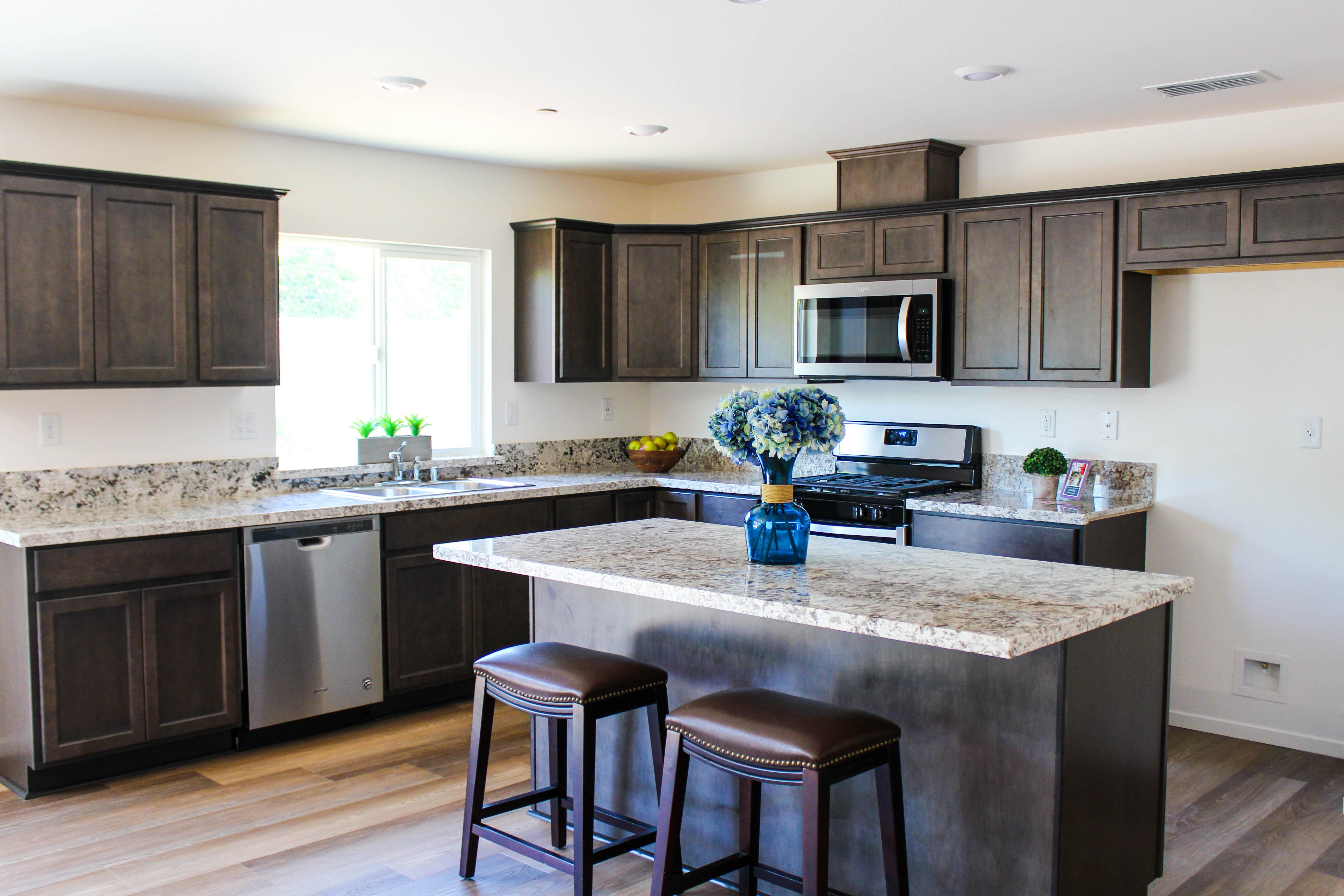 Kitchen featured in the 2B By Crowne Communities in Chico, CA