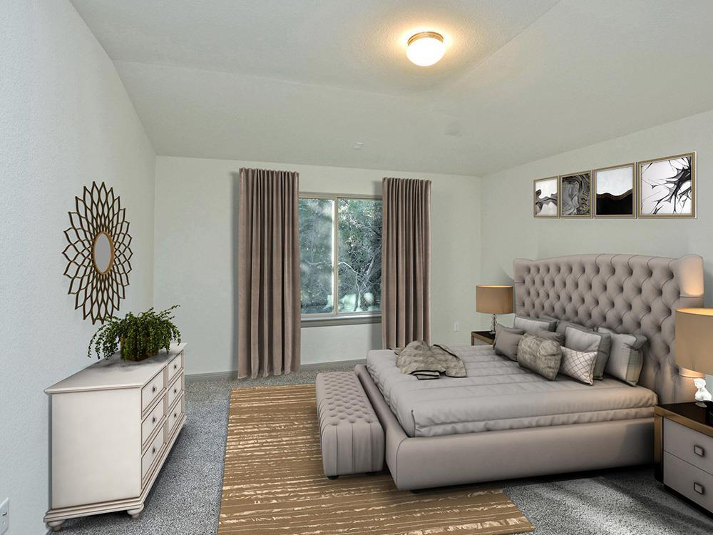 Bedroom featured in The Austin By DH Homes in Austin, TX