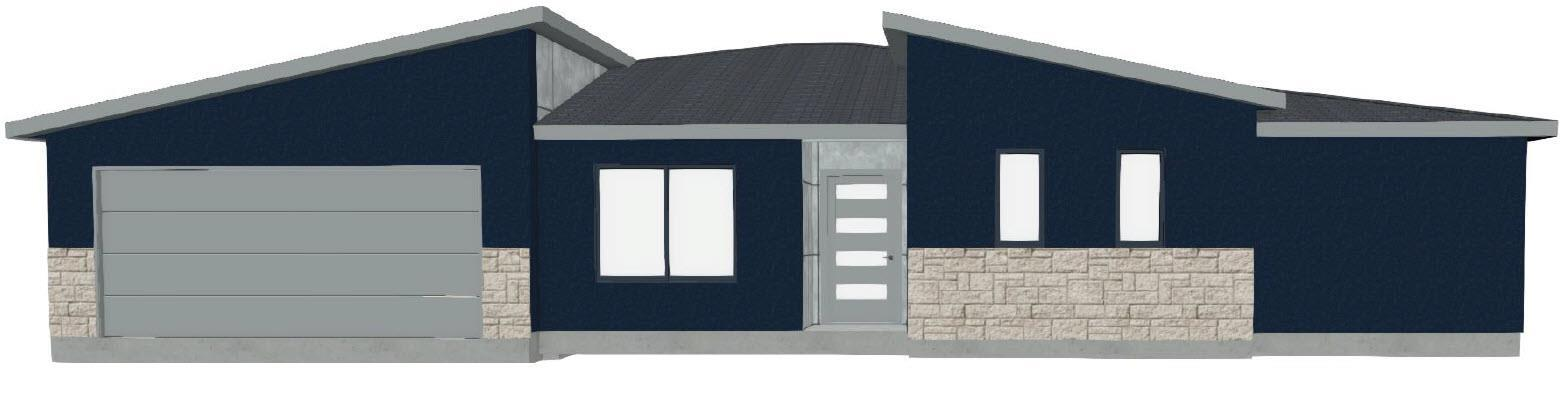 Exterior featured in The Bonham II By DH Homes in Austin, TX