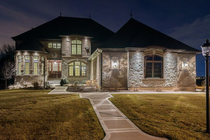 DJK Homes Jonathan I With Old World Elevation Style