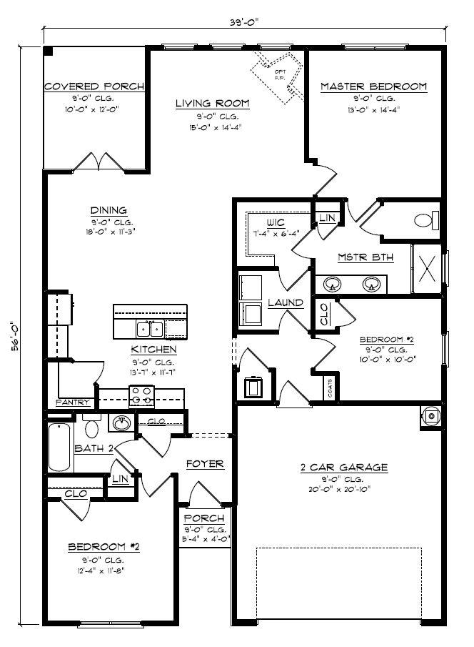The Arlington Plan Daphne Alabama 36526