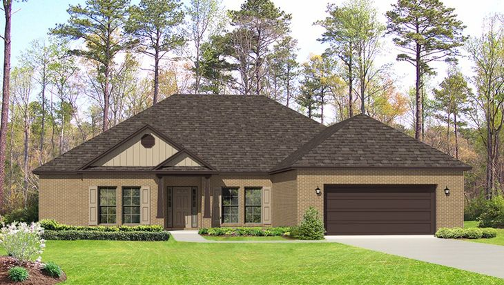 The Avery Plan at Hickory Estates in Foley, AL by D.R. Horton on lennar home plans, toll brothers home plans, pulte home plans,