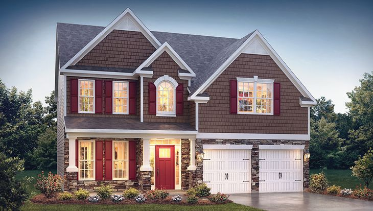 Fleetwood Plan at Brentwood in Greer, SC by D R  Horton