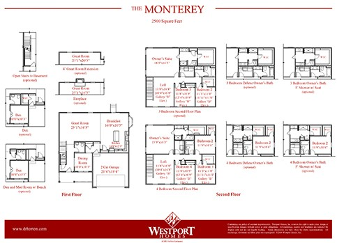 Monterey Plan At Blues Creek In Ostrander Oh By D R Horton