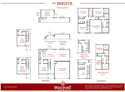 Bristol Plan At Braumiller Woods In Delaware Oh By D R Horton