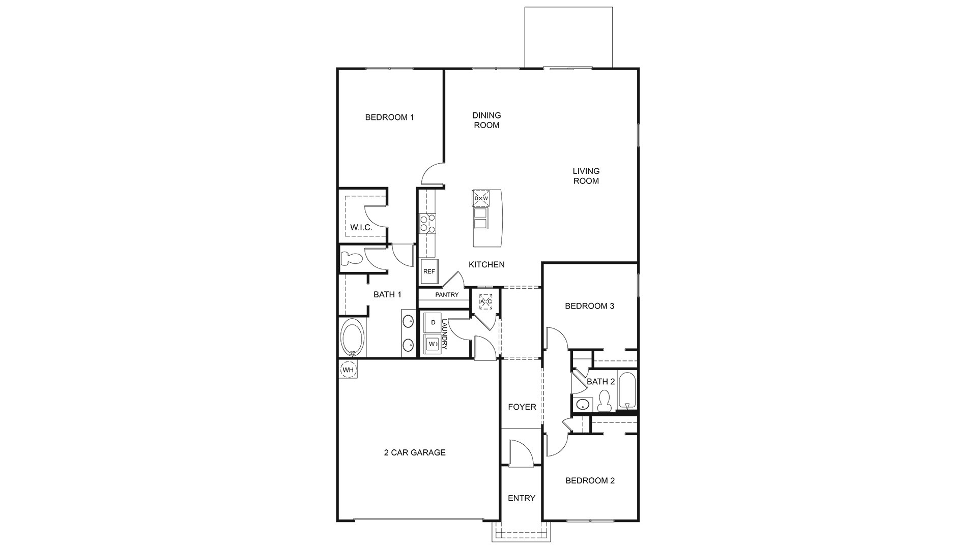 Aria Plan At Winchester Ridge In Jacksonville Fl By D R Horton