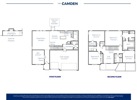 Camden Plan At Broadmoore Commons In Pataskala Oh By D R Horton