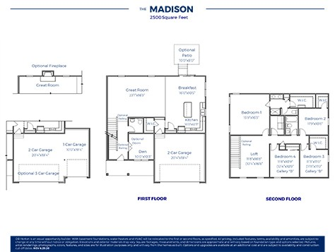 Madison Plan At Butler Farms In Obetz Oh By D R Horton