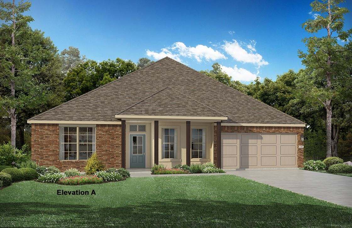 New construction floor plans in lafayette la newhomesource for House plans lafayette la