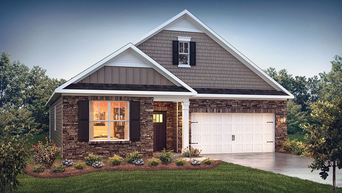 Exterior featured in the Dover By D.R. Horton in Greensboro-Winston-Salem-High Point, NC