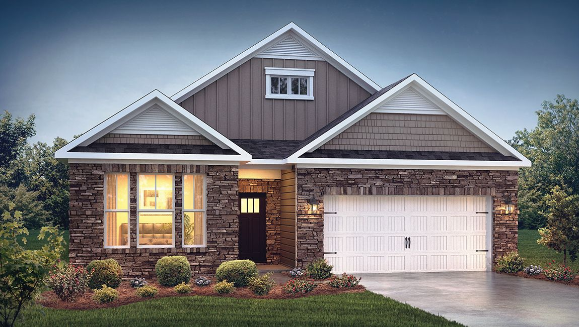 Exterior featured in the Bristol By D.R. Horton in Hickory, NC