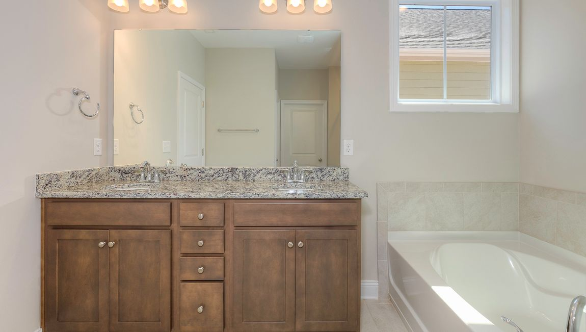 Bathroom featured in the Claiborne By D.R. Horton in Hickory, NC
