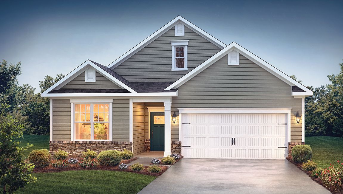 Exterior featured in the Clifton By D.R. Horton in Hickory, NC