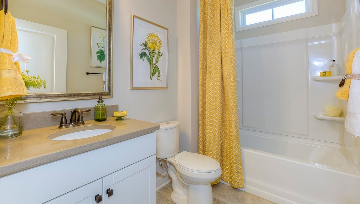 Bathroom featured in the Clifton By D.R. Horton in Hickory, NC