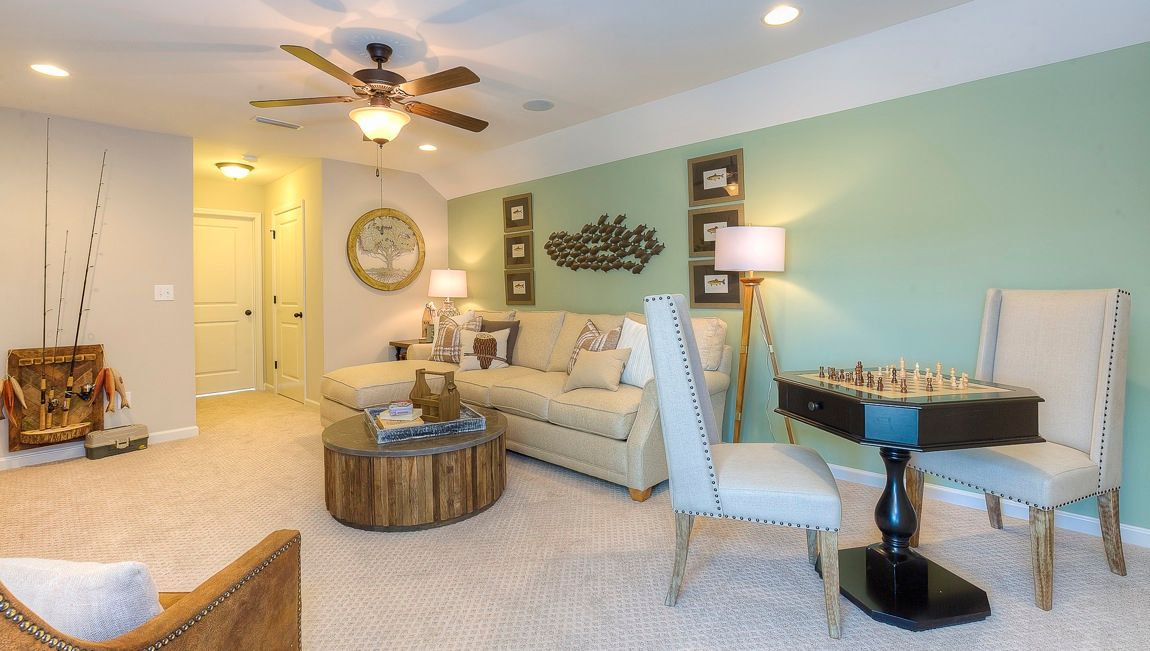 Living Area featured in the Clifton By D.R. Horton in Hickory, NC