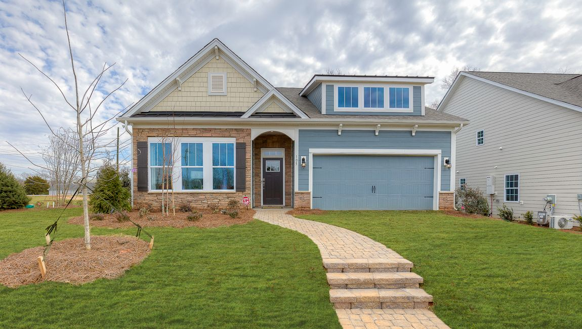 Exterior featured in the Azalea By D.R. Horton in Hickory, NC