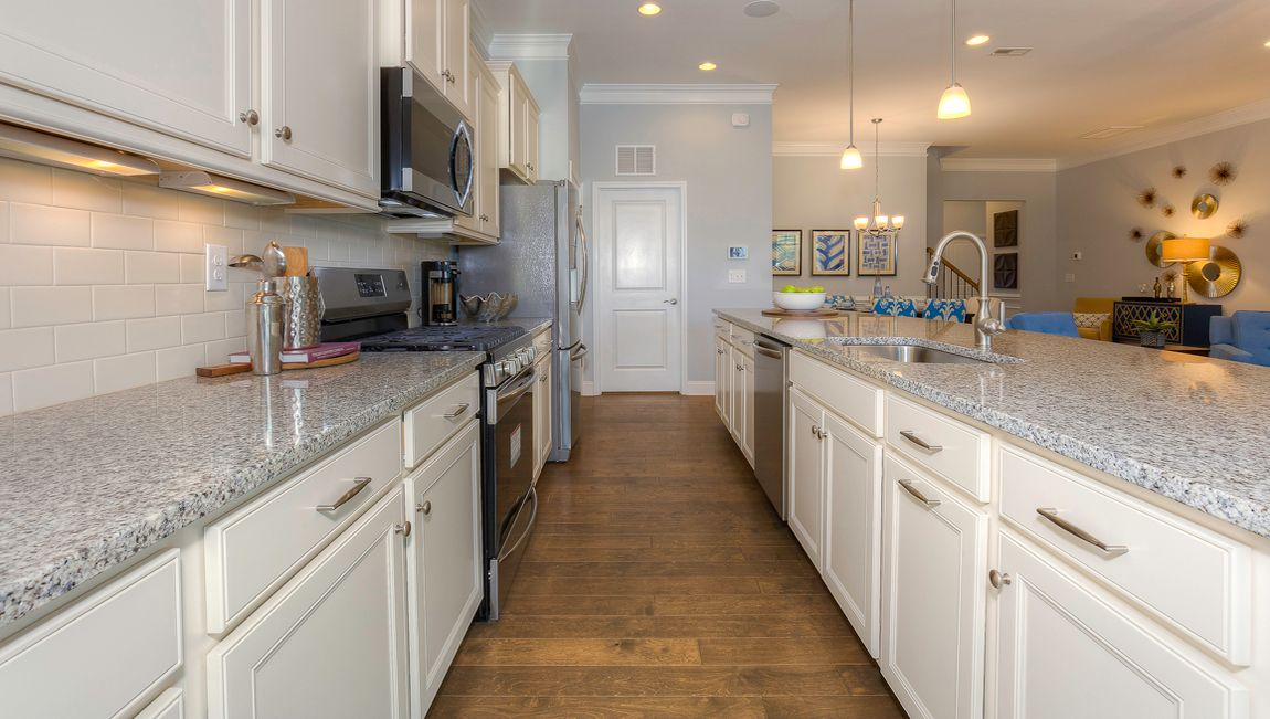 Kitchen featured in the Azalea By D.R. Horton in Hickory, NC