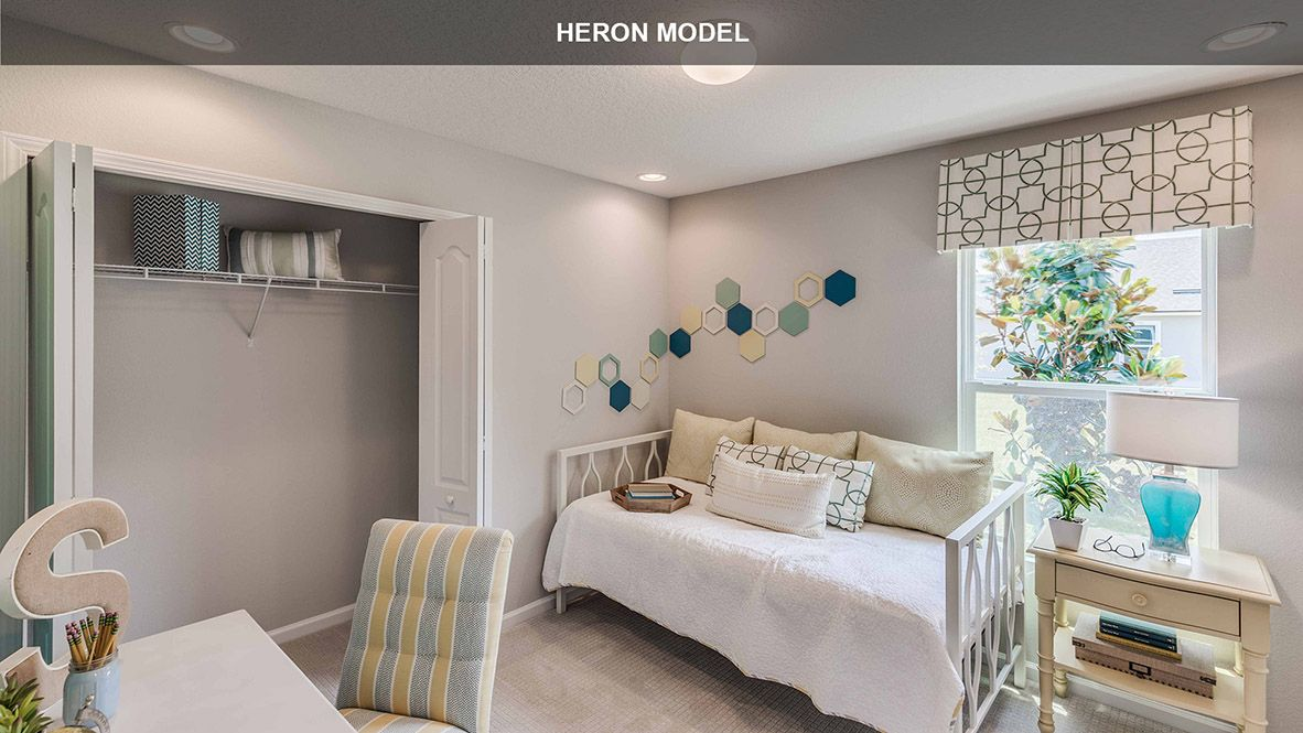 Bedroom featured in the HERON By D.R. Horton in Jacksonville-St. Augustine, FL