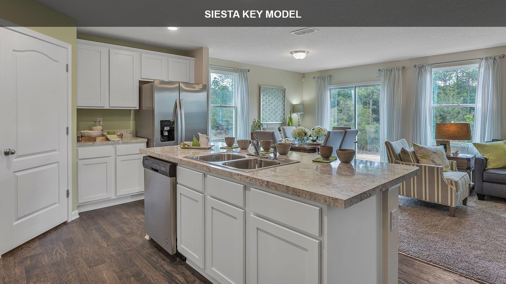 Kitchen featured in the SIESTA KEY By D.R. Horton in Jacksonville-St. Augustine, FL