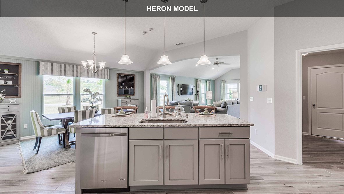 Kitchen featured in the HERON By D.R. Horton in Jacksonville-St. Augustine, FL