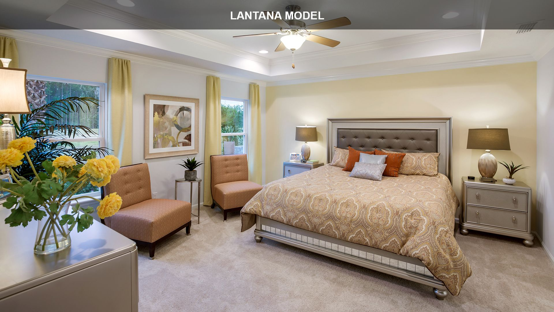 Bedroom featured in the LANTANA By D.R. Horton in Jacksonville-St. Augustine, FL