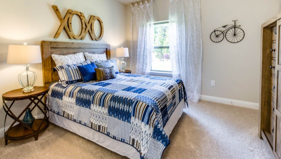 Bedroom featured in The Mila By D.R. Horton in Mobile, AL