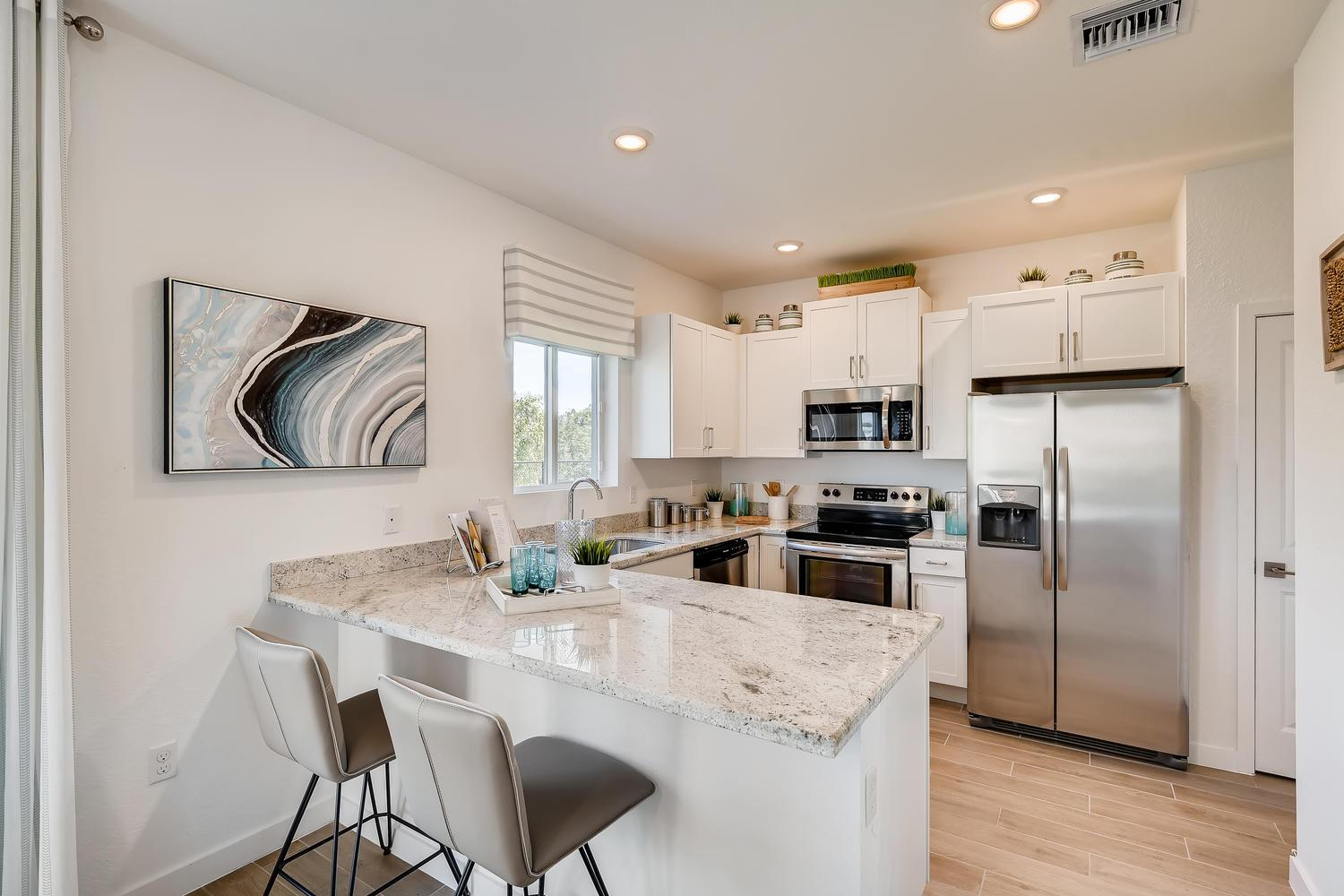 Kitchen featured in the Argent By D.R. Horton in Miami-Dade County, FL