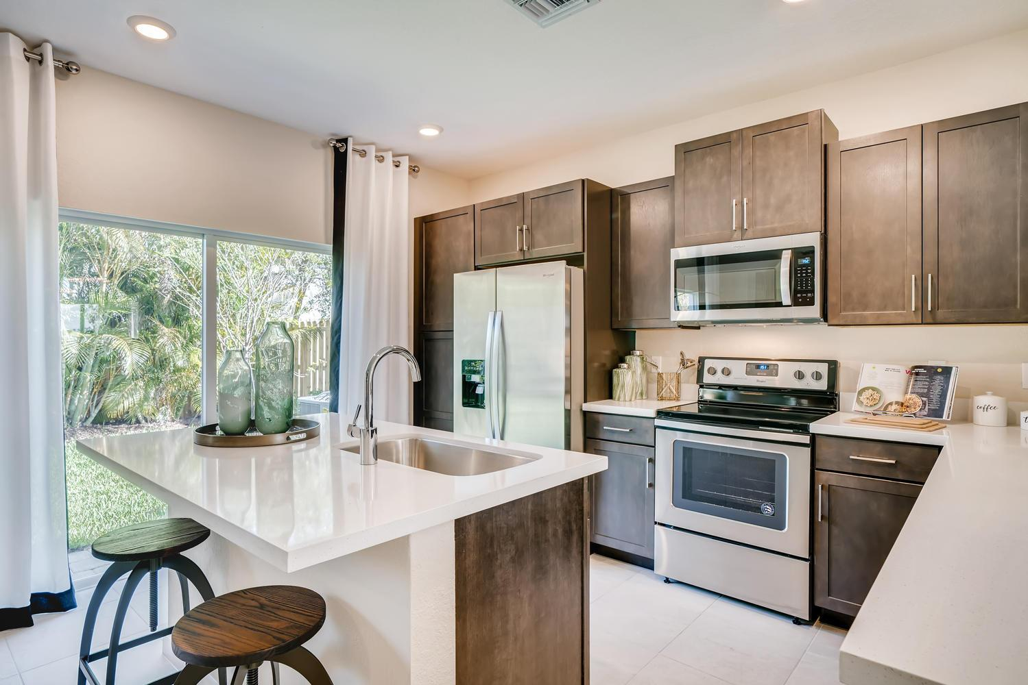 Kitchen featured in the Coventry By D.R. Horton in Miami-Dade County, FL