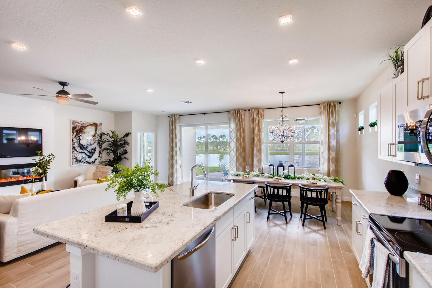 Living Area featured in the Delray By D.R. Horton in Martin-St. Lucie-Okeechobee Counties, FL