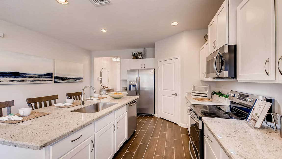 Kitchen featured in the Grandcourt By D.R. Horton in Miami-Dade County, FL