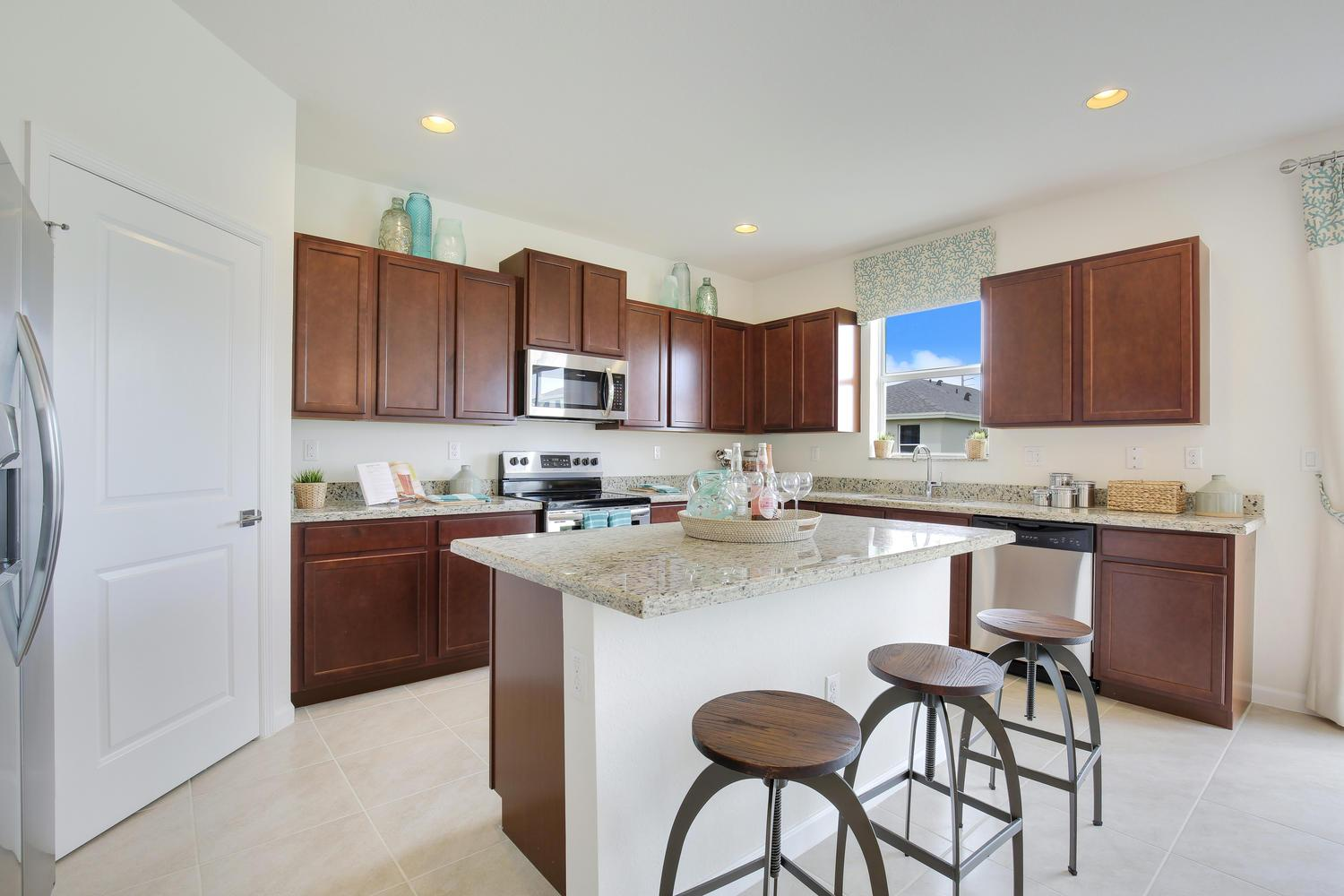 Kitchen featured in the Forester By D.R. Horton in Miami-Dade County, FL