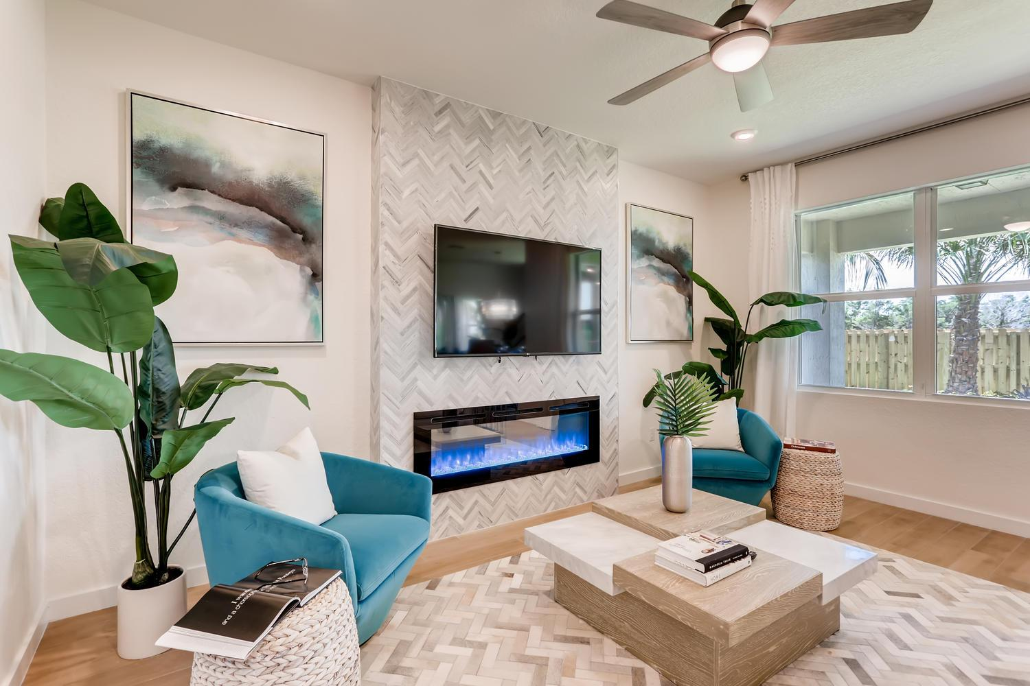 Living Area featured in the Aria By D.R. Horton in Martin-St. Lucie-Okeechobee Counties, FL