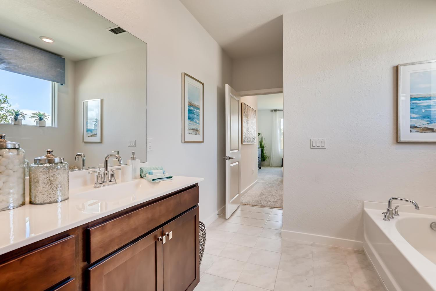 Bathroom featured in the Aria By D.R. Horton in Martin-St. Lucie-Okeechobee Counties, FL