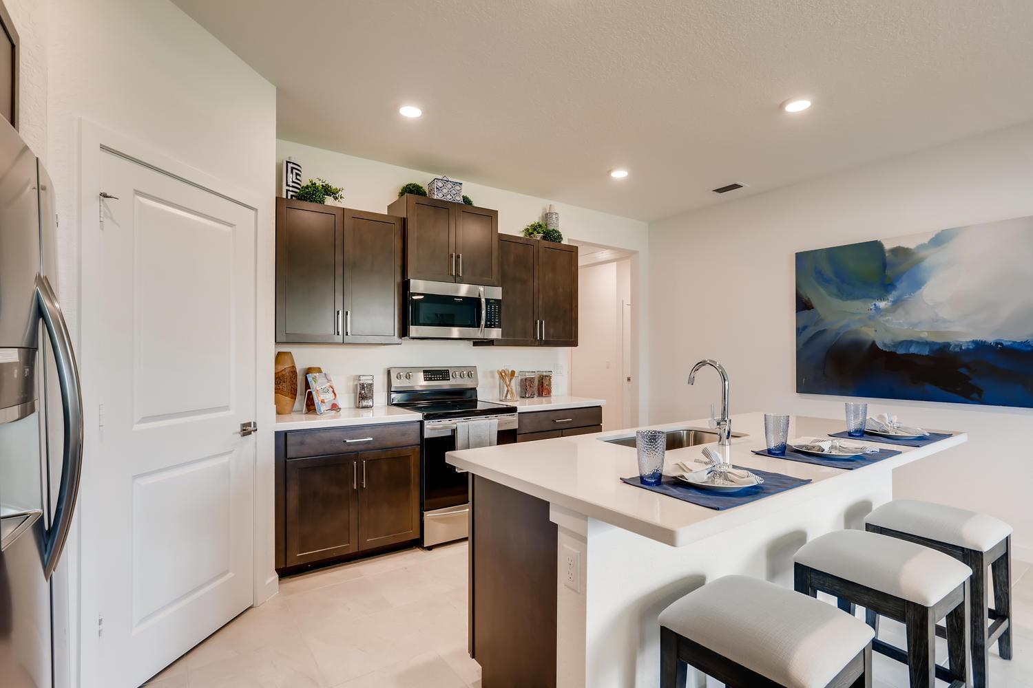 Kitchen featured in the Cali By D.R. Horton in Martin-St. Lucie-Okeechobee Counties, FL