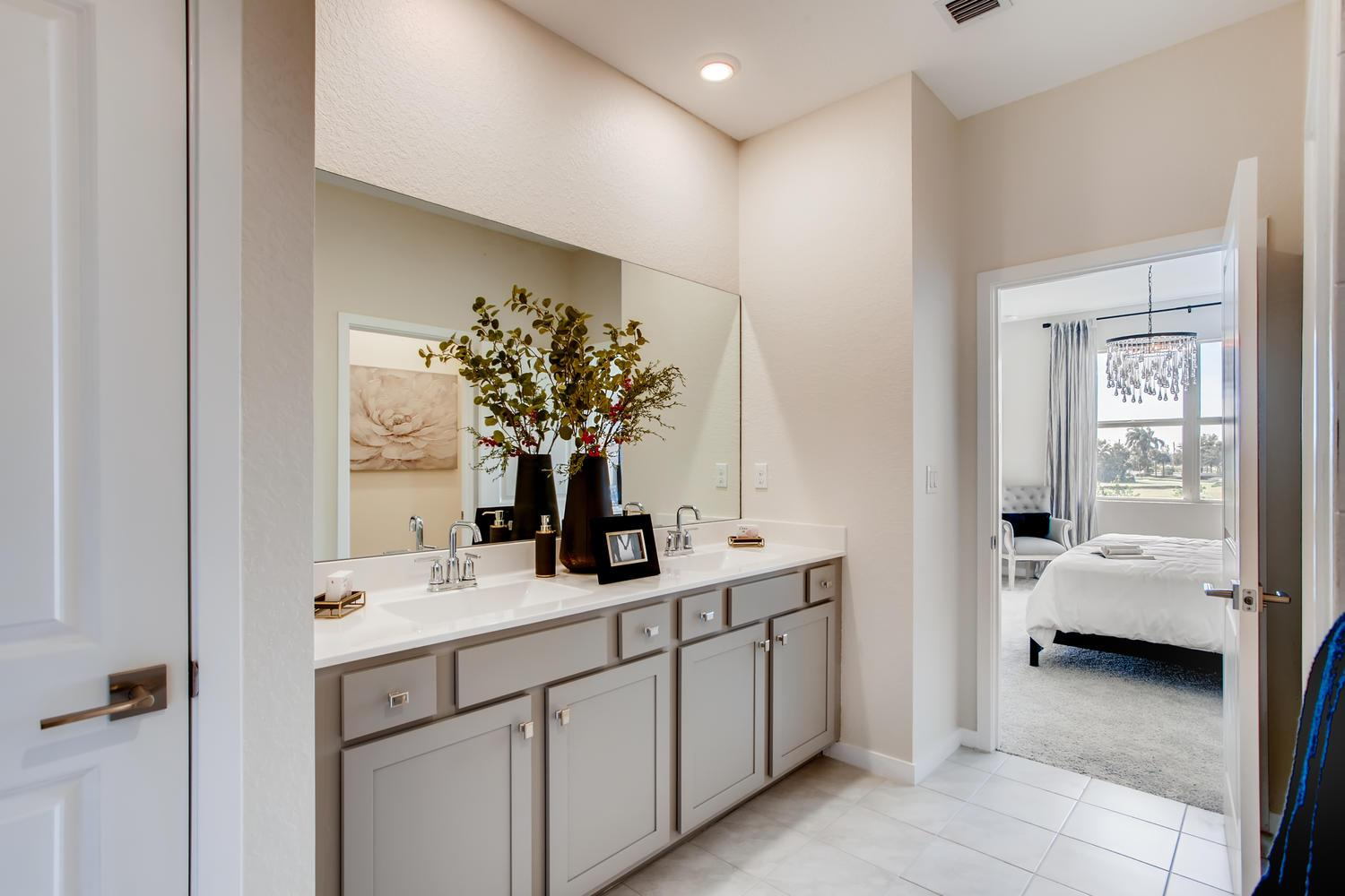 Bathroom featured in the Aventura By D.R. Horton in Palm Beach County, FL