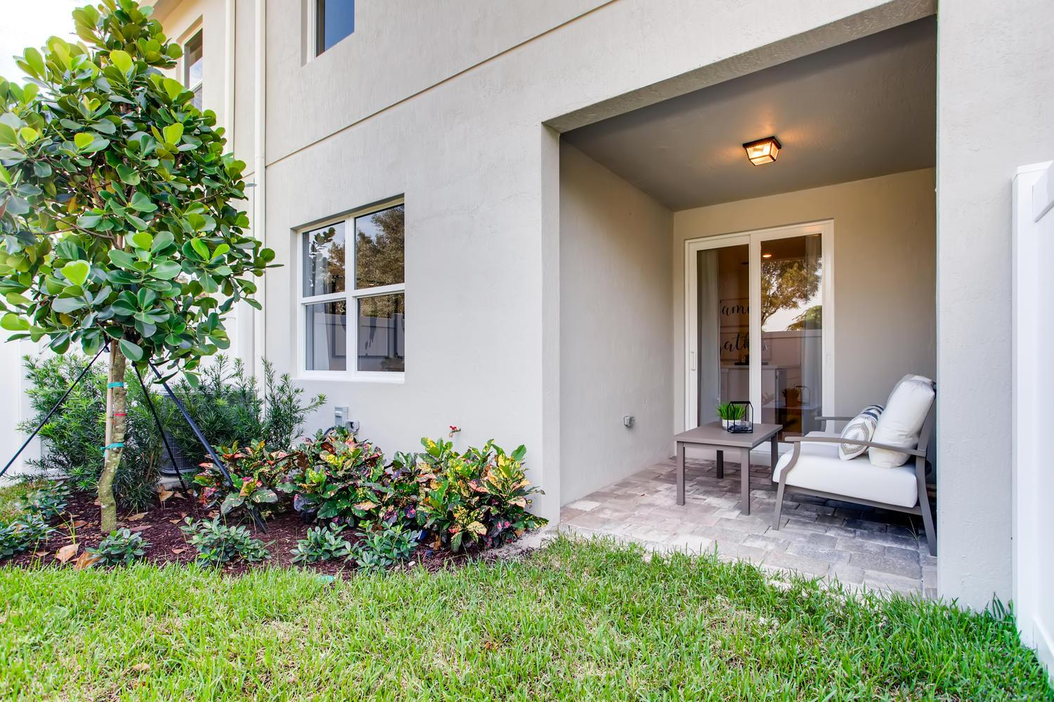 Exterior featured in the Aventura By D.R. Horton in Palm Beach County, FL