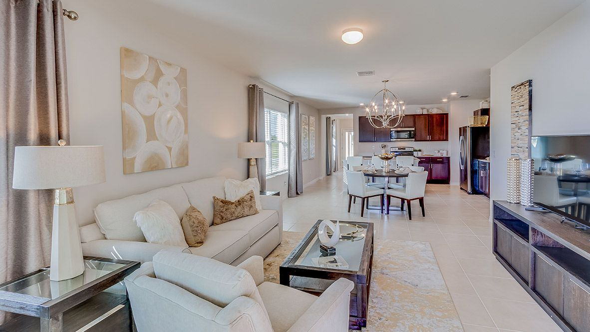 Living Area featured in the Jemison - Express Homes By D.R. Horton in Fort Myers, FL